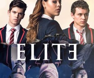 elite, espana, and tv show image