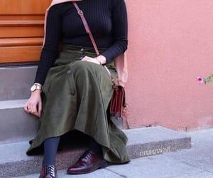 bag, hijab, and boots image