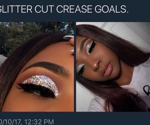 eyeshadow, goals, and makeup image