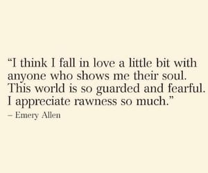 fall in love, life, and quote image