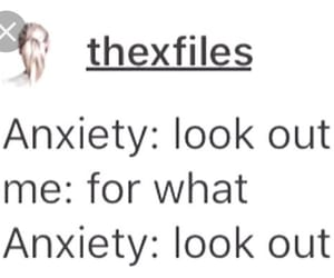 anxiety, quote, and thruth image