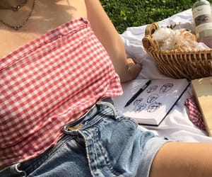 picnic, red, and food image