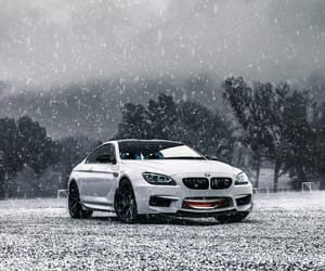 bmw, ice, and photography image