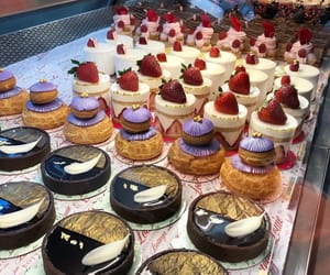 cakes, delicious, and deserts image