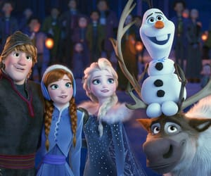 disney, frozen, and animation image