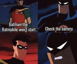 batman, meme, and robin image