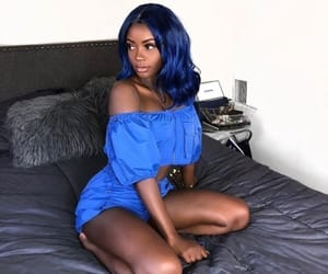 blue, fit, and sexy image