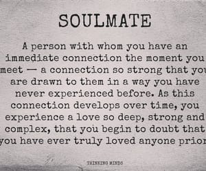 people, soulmate, and love image