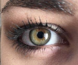 art, brown, and eye image