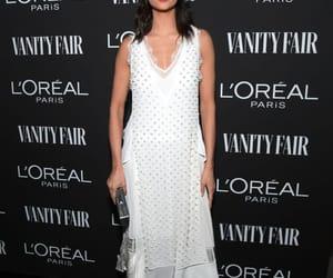 Nina Dobrev, Vanity Fair, and white dress image