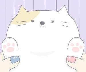 cat, kawaii, and fondos de pantalla image