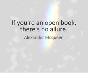 Alexander McQueen, fashion, and quotes image
