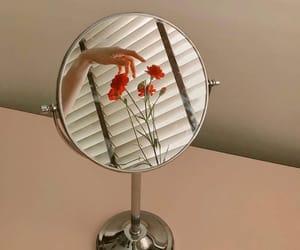 flowers, indie, and mirror image