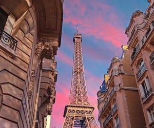 paris, photography, and sunset image