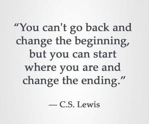 beginning, c.s. lewis, and cs lewis image