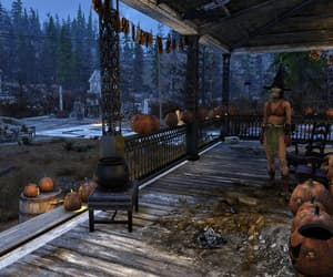 night, fallout, and Halloween image