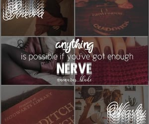 aesthetic, ginny weasley, and harry potter image
