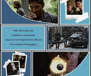 aesthetic, blue, and spn image