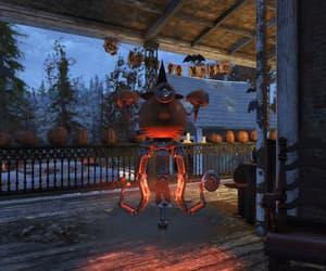 fallout, Halloween, and pumpkins image