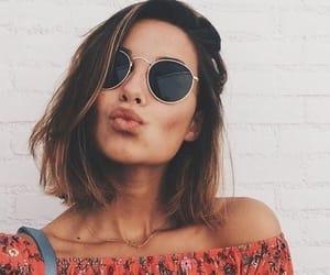 gafas, kissestoyouall, and girl image