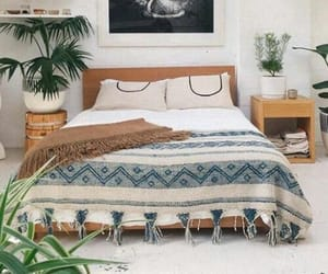 bedroom, interior, and nature image