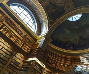 architecture, bibliotheque, and books image