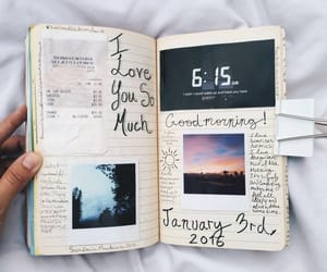 college, notebook, and planner image
