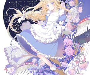 alice, anime, and anime girl image