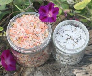 bath salts, organic, and sea salt image