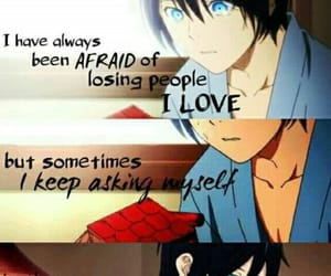 afraid, manga, and love image