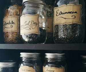 witch, aesthetic, and jar image