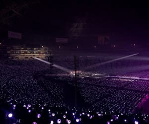 concert, purple ocean, and bts image