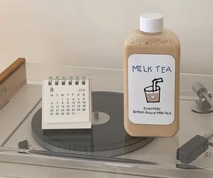 aesthetic, beige, and drink image