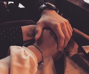 holding hands, couple goal, and Relationship image