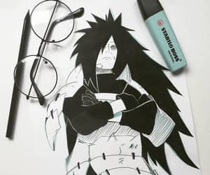 manga, madara uchiha, and anime image