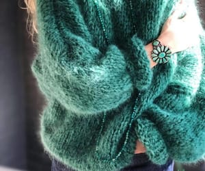 chic, knitting, and sweaters image