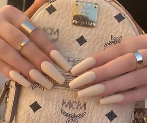 acrylic, nails, and luxurious image