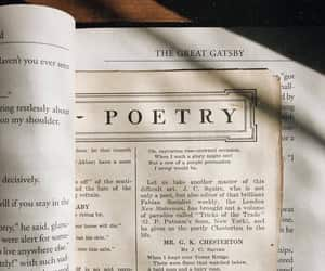poetry, book, and vintage image