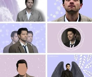 aesthetic, angel, and spn image
