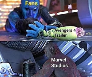Avengers, funny, and iron man image