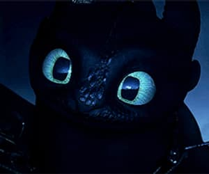 animation, nightfury, and httyd 3 image
