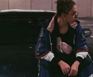 adidas, girl, and hairstyle image