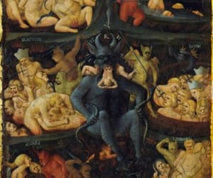 art, Devil, and hell image
