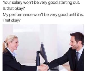 interviews, work, and salary image