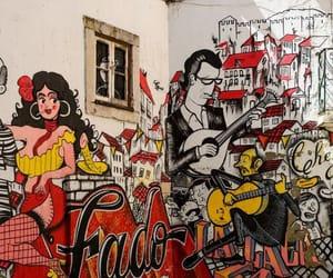 journey, street art, and lisbon portugal image