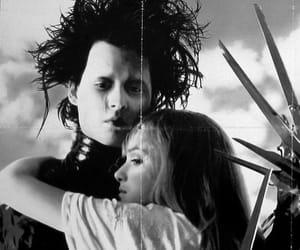 movie, johnny depp, and edward scissorhands image