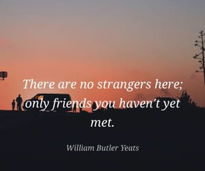 camping, quote, and stranger image