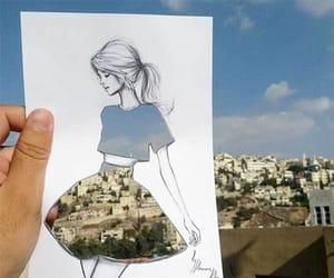 arte, paisaje, and falda image