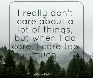 caring, Citations, and quote image