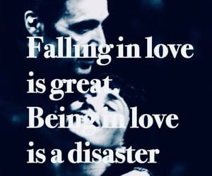 falling in love, being in love, and is great disaster image